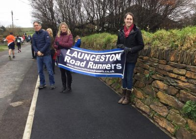 Support out on the Cornish Marathon