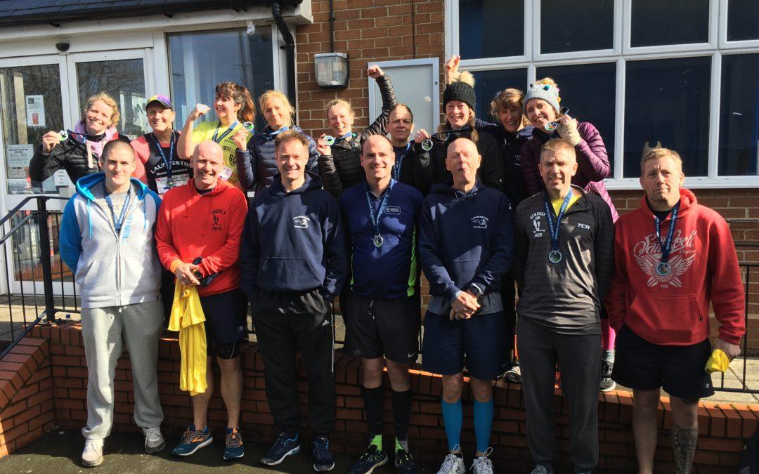 LRR at the Bideford Half Marathon